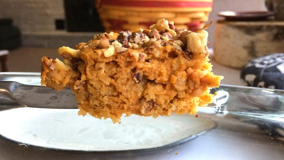 Pumpkin protein bar recipe delicious