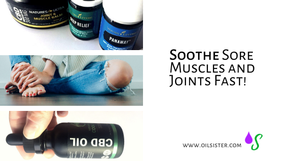 soothe sore joints and muscles