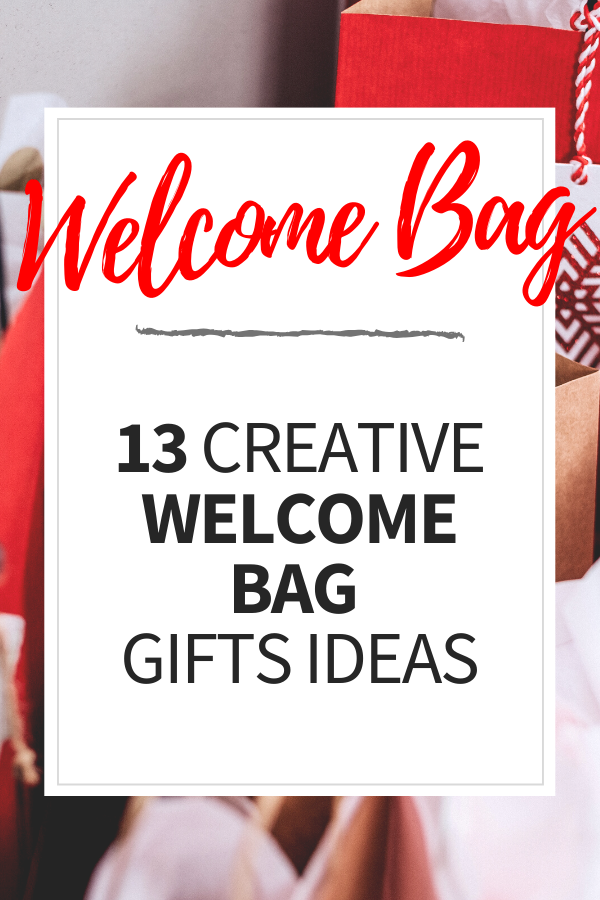 Welcome Bag pin